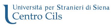 Logo università per gli stranieri di siena centro cils