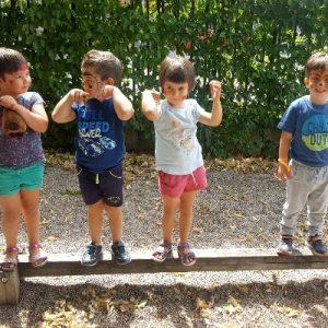 """Attività estiva per bambini """"asilo trilingue"""" azb"""
